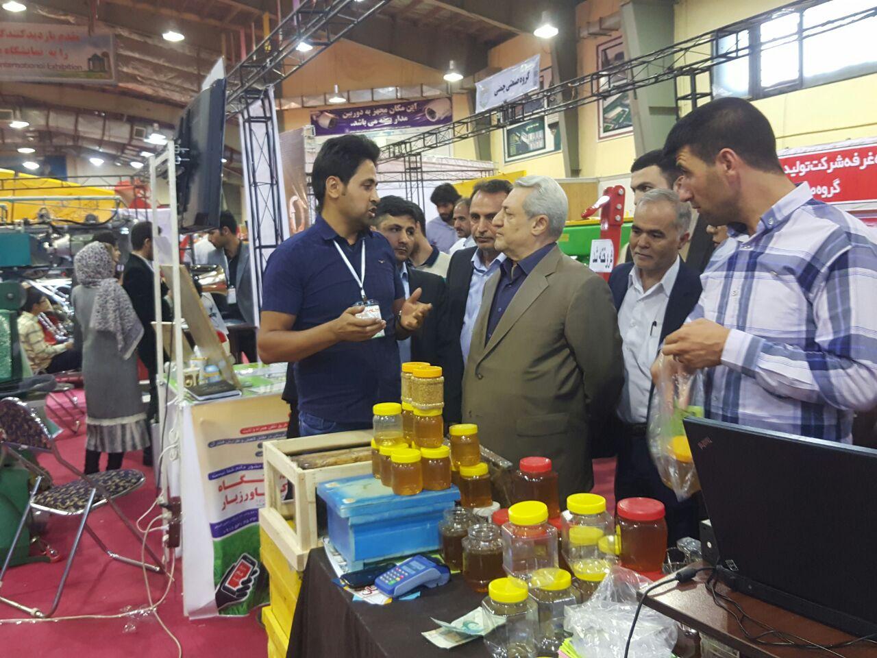 حضور در نمایشگاه بین المللی تهران 2017 به عنوان شرکت فناور